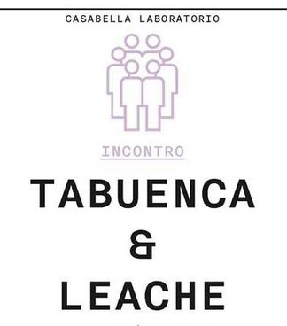 Meeting with Tabuenca & Leache at Casabella Formazione