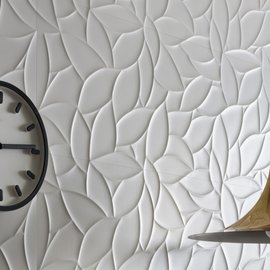The beauty of ceramic wall tiles in the large 40x120 size